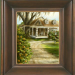 Study of Harriet Beecher Stowe Home in Mandarin Florida