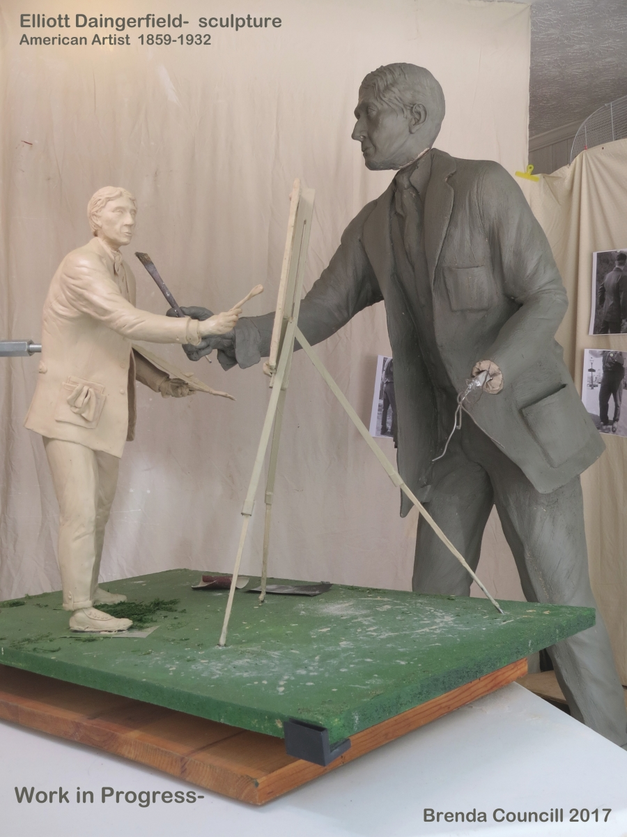 Sculpture Model and Clay Life Size