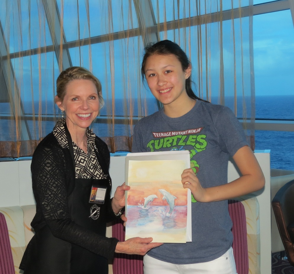 Watercolor Workshops-Cruise Ships